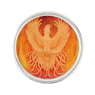 Phoenix-Feuer-Vogel-Überlebend-Revers-Button Anstecknadel