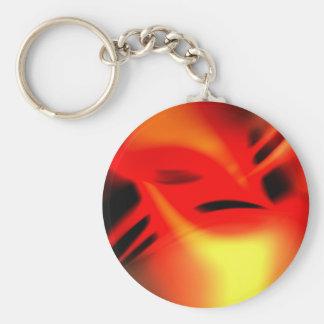 Phoenix-Flammen Schlüsselanhänger