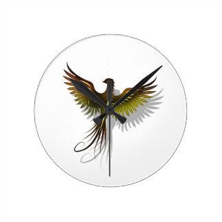 Phoenix Runde Wanduhr