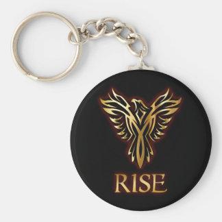 Phoenix-Vogel-Aufstieg grundlegendes Keychain Schlüsselanhänger