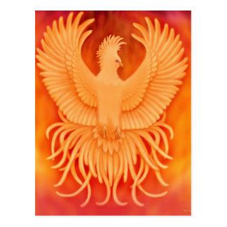Phoenix-Vogel-Postkarte Postkarte