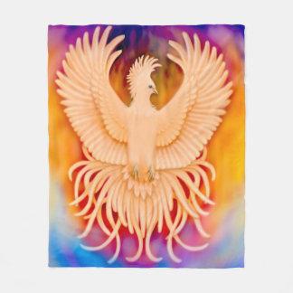 Phoenix-Vogel-steigende Überlebend-Fleece-Decke Fleecedecke