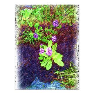 Photo de dessin de fleur