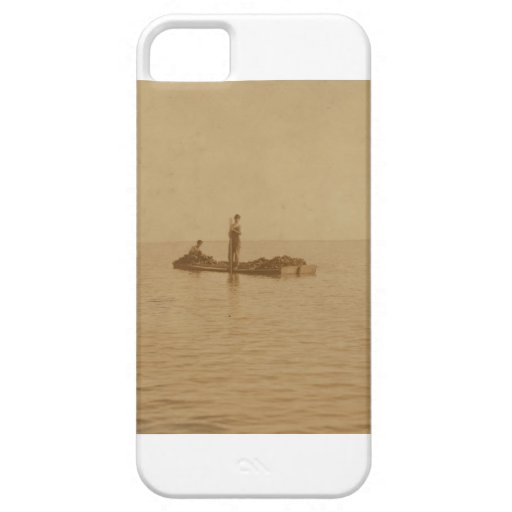 Photo de pêche des Oystermen 1911 de Batre de La d Coques iPhone 5 Case-Mate
