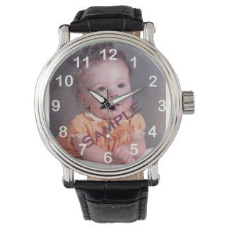 Photo personnalisable montres