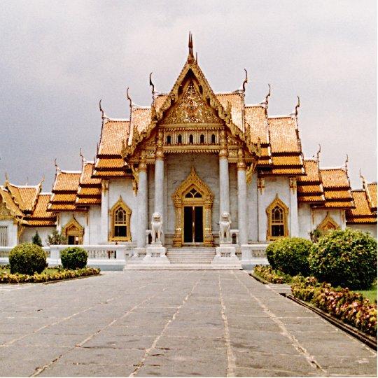 Photo Sculpture Temple de marbre de lion Photosculpture de Khmer