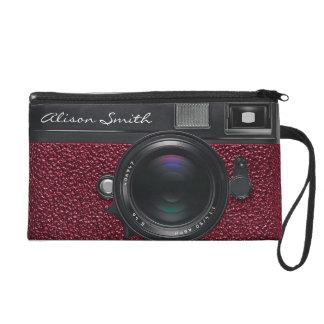 Photographer Netz Camera Wristlet Handtasche