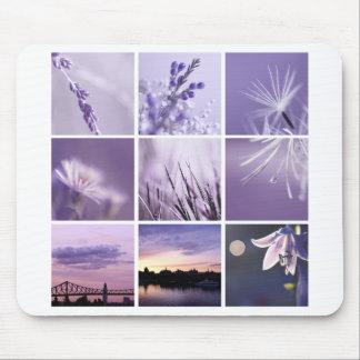 photographie pourpre Mousepad de la nature 3x3 Tapis De Souris