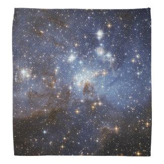 Photographie stellaire de l'espace de crèche de la bandanas