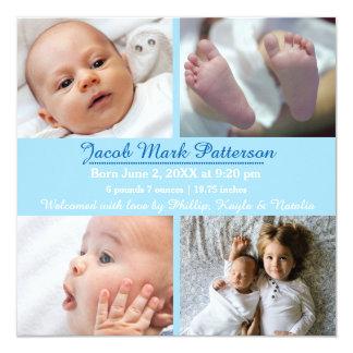 Photos du bleu 4 - faire-part de naissance