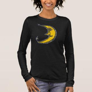 PhotoShop Mond Langarm T-Shirt