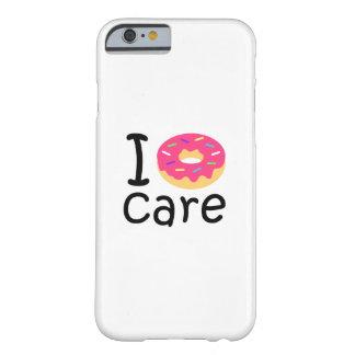 Phrase der i-Krapfen-Sorgfalt neigend lustige, Barely There iPhone 6 Hülle