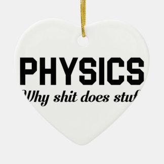 Physik füllt an keramik ornament
