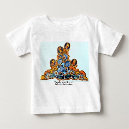 Phytoplankton-Baby-Geldstrafe-Jersey-T - Shirt