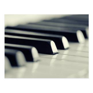 Piano Postkarte