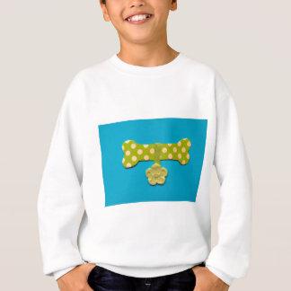 Pickeliger Hundeknochen -k.jpg Sweatshirt