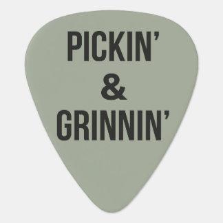 Pickin und Grinnin Plektrum