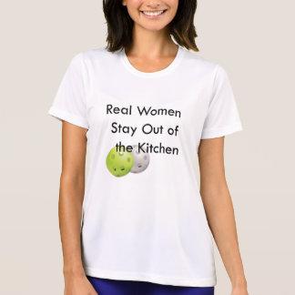 Pickleball, Aufenthalt aus der Küche heraus T-Shirt