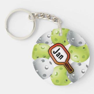 Pickleball Keychain Schlüsselanhänger