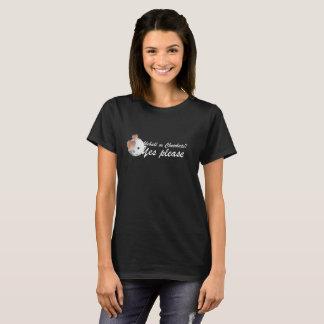 PIckleball oder Schokolade: Bitte ja (weiße T-Shirt