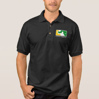"Pickleball Polo-Shirt: ""Oberste Spielklasse Poloshirt"