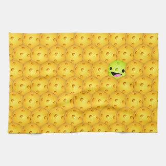 Pickleball Pop trägt das Tuch zur Schau Handtücher