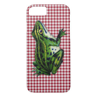 Picknick-Frosch iPhone 7 Hülle