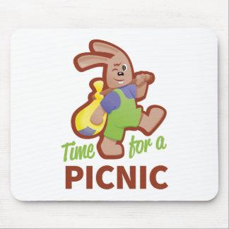 Picknick-Zeit Mousepads