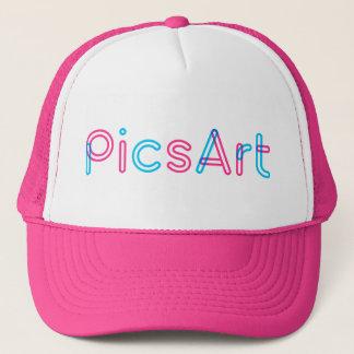 PicsArt Fernlastfahrer-Hut Truckerkappe