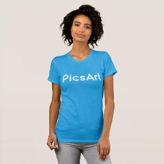 PicsArt, weiße Logo-Frauen T-Shirt