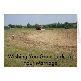 pictures055, vous souhaitant la bonne chance sur carte de vœux