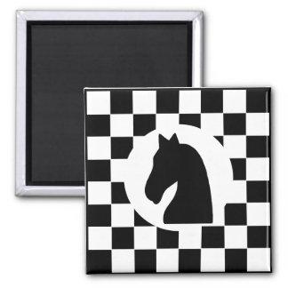 Pièce d'échecs de chevalier - aimant - cadeaux