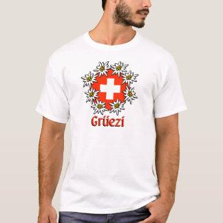 Pièce en t de base de Gruezi T-shirt