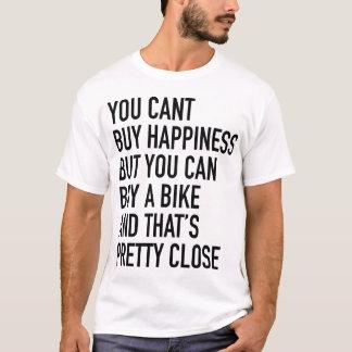 Pièce en t de bonheur par l'atelier de Velo T-shirt