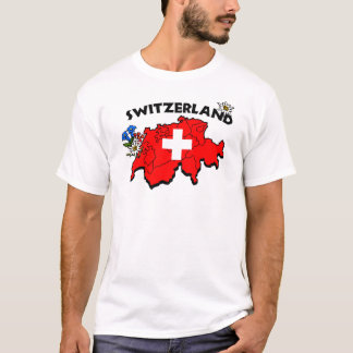 Pièce en t de carte de Switz T-shirt