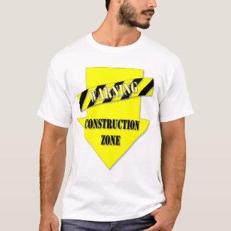 Pièce en t de maternité en construction t-shirt