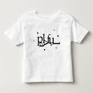 Pièce en t espiègle t-shirt pour les tous petits