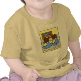 Pièce en t Looney de meilleurs amis de jumeaux T-shirt