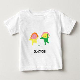 Pièce en t mignonne de bébé avec le jumeau de la t shirt