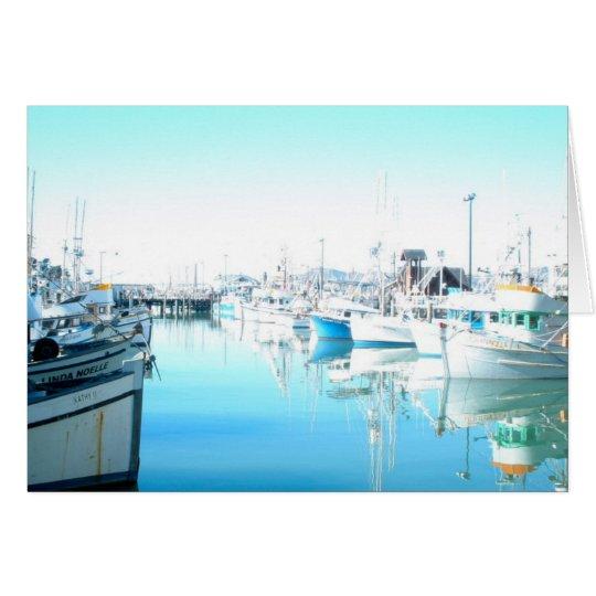 Pier 39 - Der Kai des Fischers Grußkarte