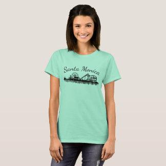 Pier-Strand-Riesenrad Kaliforniens Santa Monica CA T-Shirt