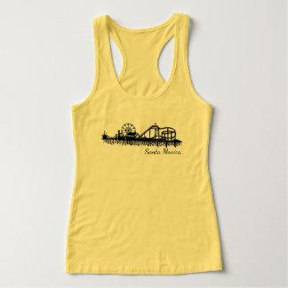 Pier-Strand-Riesenrad Kaliforniens Santa Monica CA Tank Top