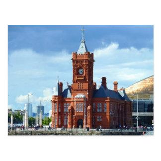 Pierhead Gebäude, Cardiff, Wales, Großbritannien Postkarten
