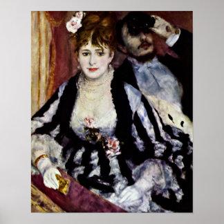 Pierre-Auguste Renoir - das Häuschen Poster