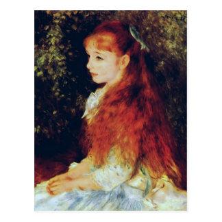 Pierre-Auguste Renoir- Fräulein Irene Cahen Postkarte