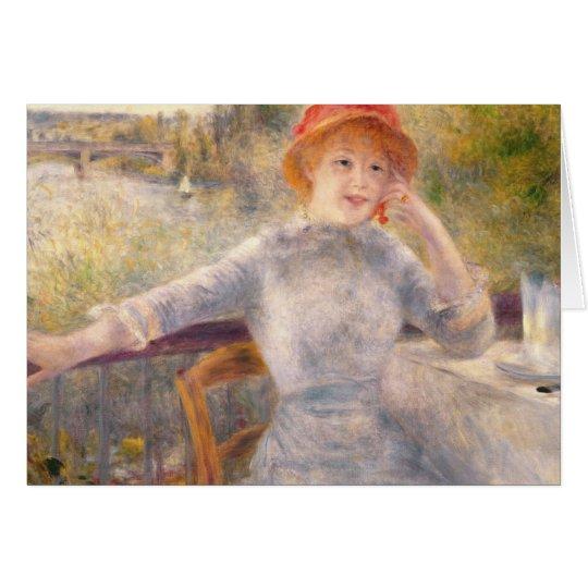 Pierre ein Renoir | A. Fournaise beim Grenouillere Karte