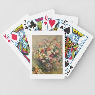 Pierre ein Renoir | Dahlien Bicycle Spielkarten