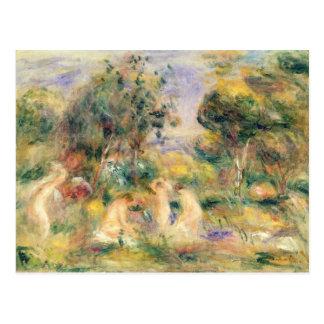 Pierre ein Renoir | die Badegäste Postkarte