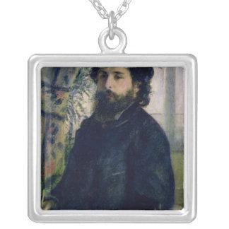 Pierre ein Renoir | Porträt von Claude Monet Versilberte Kette
