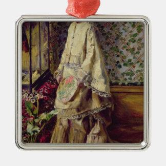 Pierre ein Renoir   Porträt von Rapha Silbernes Ornament